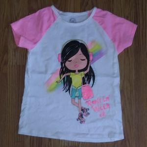 Girl's Roller Skating Shirt Size 7